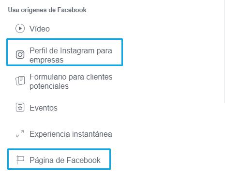 facebook ads audiencias fanpage